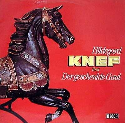 Hildegard Knef - Der Geschenkte Gaul (2LP)