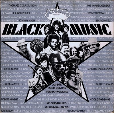 Black Music (LP)