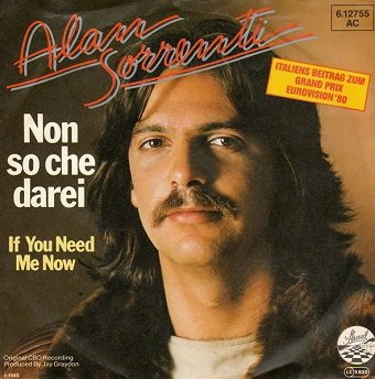 Alan Sorrenti - Non So Che Darei (7'')