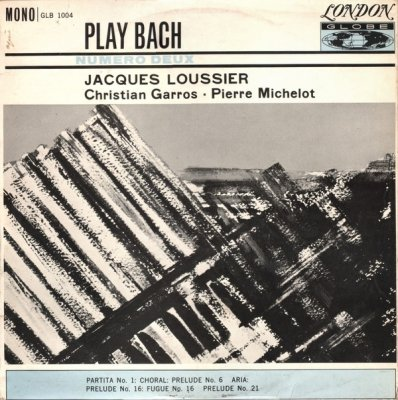 Jacques Loussier With Christian Garros And Pierre Michelot - Play Bach - No. 2 (LP)