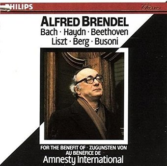 Alfred Brendel - Bach, Haydn, Beethoven, Liszt, Berg, Busoni (CD)