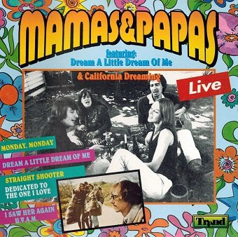 Mama's & Papas - Live (CD)
