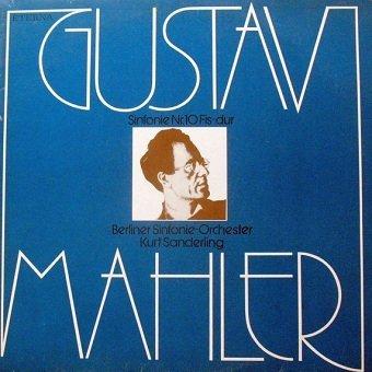 Berliner Sinfonie Orchester, Gustav Mahler, Kurt Sanderling - Sinfonie Nr. 10 Fis-dur (LP)