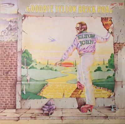 Elton John - Goodbye Yellow Brick Road (LP)