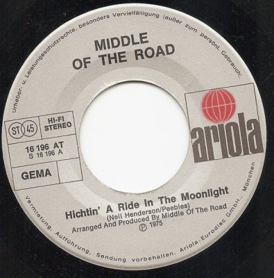Middle Of The Road - Hitchin' A Ride In The Moonlight (7)