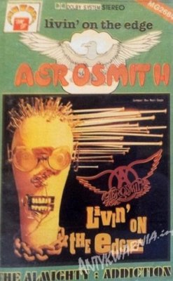 Aerosmith / The Almighty - Livin' On The Edge / Addiction (MC)