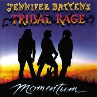 Jennifer Batten's Tribal Rage - Momentum (CD)