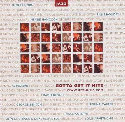 Gotta Get It Hits: Jazz (CD)