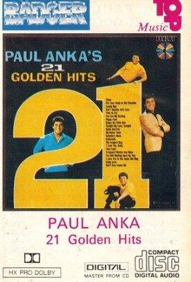 Paul Anka - 21 Golden Hits (MC)