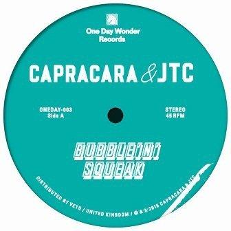 Capracara & JTC - Bubble N Squeak, Reggie, Don't Panic (12'')