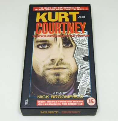 Kurt And Courtney - A Film By Nick Broomfield (VHS)