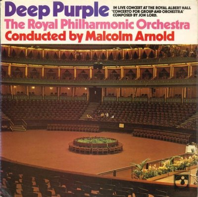 Deep Purple & The Royal Philharmonic Orchestra, Malcolm Arnold - Concerto For Group And Orchestra (LP)
