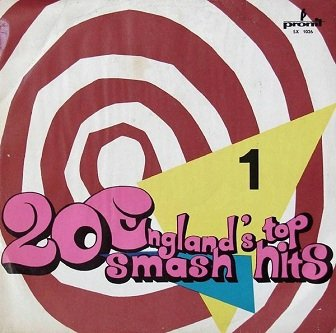 Alan Caddy England's Top 20 Smash Hits - 1 (LP)