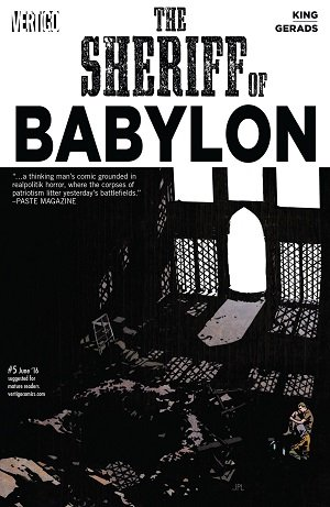 The Sheriff Of Babylon #5 (Jun 2016)