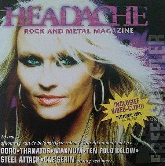 Headache - Free Sampler 2 (CD)