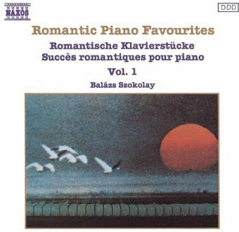 Balázs Szokolay - Romantic Piano Favourites Vol.1 (CD)