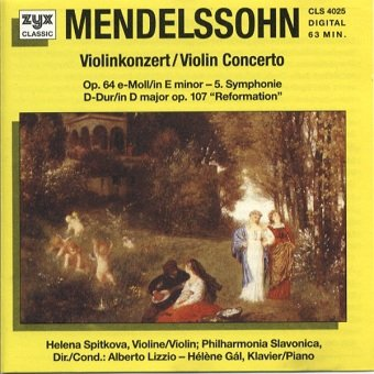 Mendelssohn Bartholdy - Violinkonzert / Violin Concerto (CD)