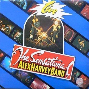 The Sensational Alex Harvey Band - Live (LP)