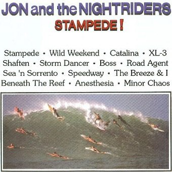 Jon And The Nightriders - Stampede! (LP)