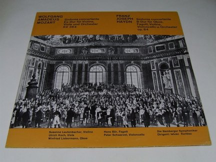 Mozart, Haydn, Bamberger Symphoniker, István Kertész - Sinfonia Concertante Es-Dur Für Violine, Viola Und Orchester KV 364, Sinfonia Concertante B-Dur Für Oboe, Fagott, Violine, Violoncello Und Orchester Op. 84 (LP)