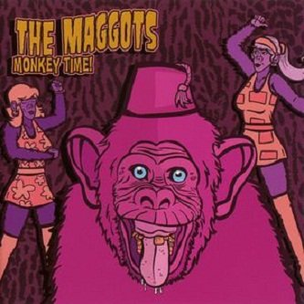 The Maggots - Monkey Time! (CD)