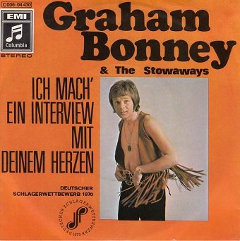 Graham Bonney & The Stowaways - Ich Mach' Ein Interview Mit Deinem Herzen / Sally (7)