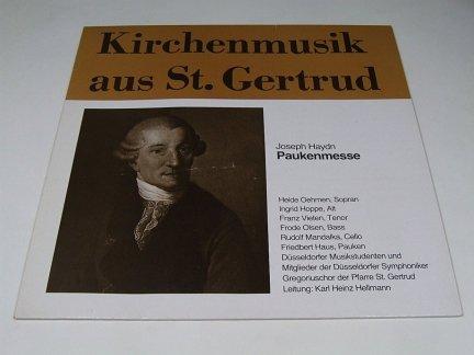 Kirchenmusik Aus St. Gertrud, Joseph Haydn Paukenmesse (LP)