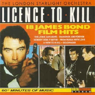 London Starlight Orchestra - Licence To Kill - 18 James Bond Film Hits (CD)