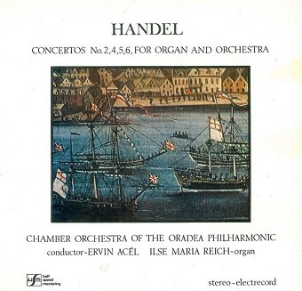 Handel - Concertos No. 2,4,5,6, For Organ And Orchestra (LP)