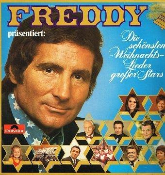 Freddy Präsentiert: Die Schönsten Weihnachts- Lieder Großer Stars (LP)