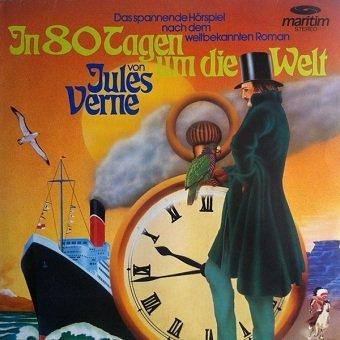Jules Verne - In 80 Tagen Um Die Welt (LP)