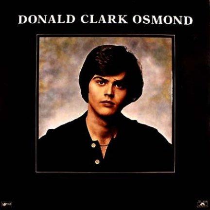 Donny Osmond - Donald Clark Osmond (LP)