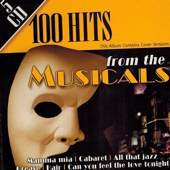 100 Hits From The Musicals (5CD)
