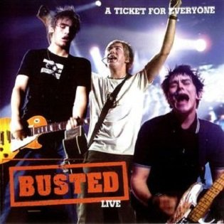 Busted - A Ticket For Everyone: Busted Live (CD)
