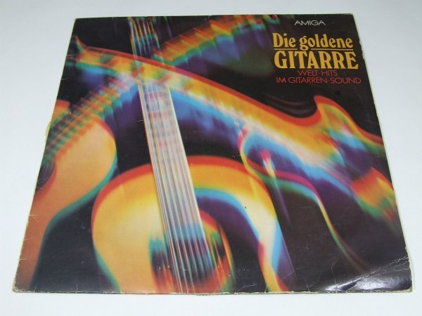 Studio-Orchester - Die Goldene Gitarre: Welt-Hits Im Gitarren-Sound (LP)