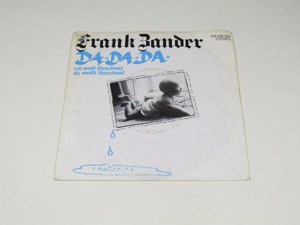 Frank Zander - Da Da Da Ich Weiß Bescheid, Du Weißt Bescheid (7'')