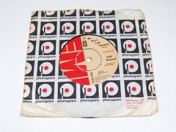 """Cliff Richard - We Don't Talk Anymore (7"""")"""