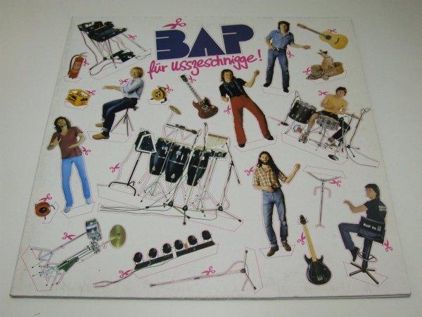 BAP - Für Usszeschnigge! (LP)