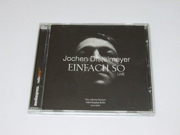 Jochen Distelmeyer - Einfach So - Live (CD)