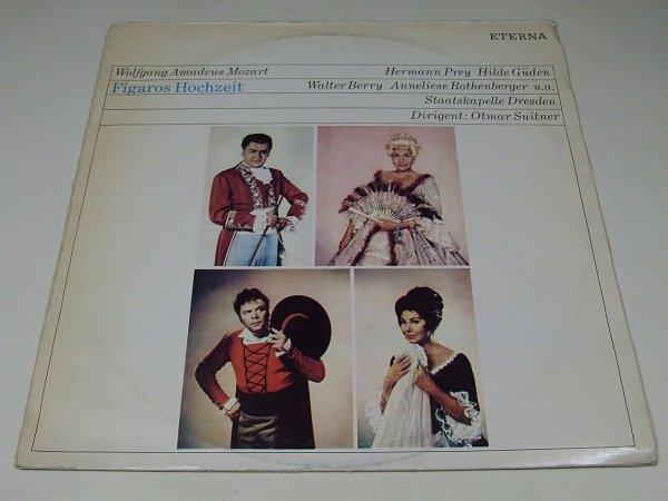Staatskapelle Dresden, Wolfgang Amadeus Mozart - Heitere Oper - Figaros Hochzeit (LP)