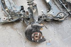Zwrotnica przód prawa Honda Accord VII 2006 2.2D N22A1 Kombi
