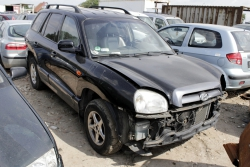 Półoś przód prawa Hyundai Santa Fe SM 2005 2.4i