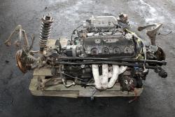 Silnik skrzynia biegów zawieszenie przód Honda Civic VI EJ 1998 1.6i 16V VTEC D16Y7