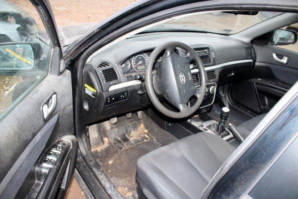 Błotnik przód prawy Hyundai Sonata NF 2007 Sedan