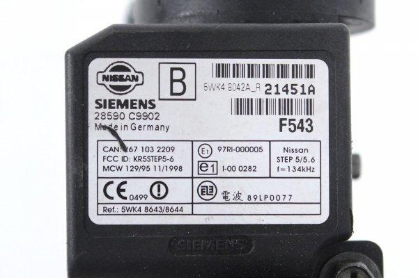 Komputer silnika stacyjka immo - Nissan - Almera - zdjęcie 10
