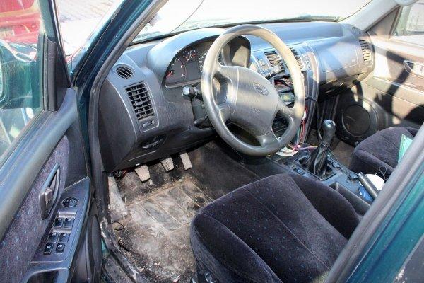 Drzwi tył lewe Hyundai Terracan 2001 (Kod lakieru: BY)