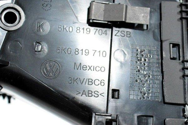 Kratka kratki nawiewu VW Golf VI 5K 2012