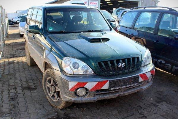 Mechanizm silniczek wycieraczek Hyundai Terracan 2001