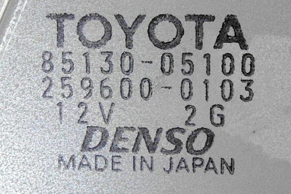 Silniczek wycieraczek tył Toyota Avensis T25 2005 kombi