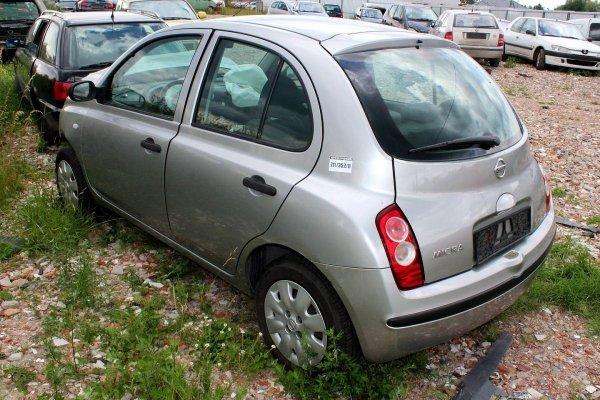 Nissan Micra K12 2006 1.2i CR12 Hatchback 5-drzwi